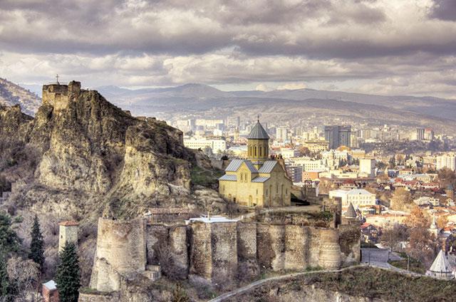 Narikala Fortress, Tbilisi