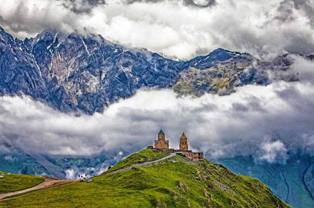 Gergeti Trinity Church, Kazbegi