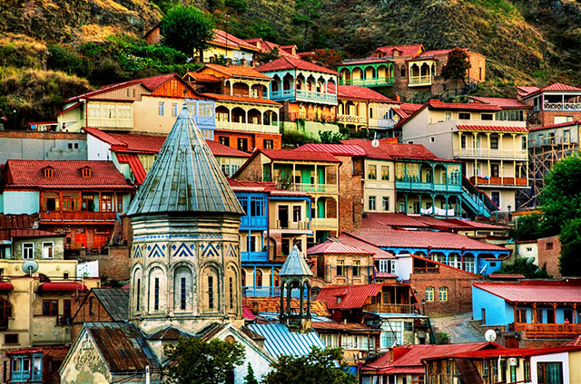 Old district of Tbilisi