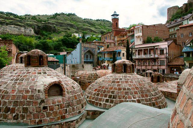 Абанотубани – квартал, известный своим комплексом бань