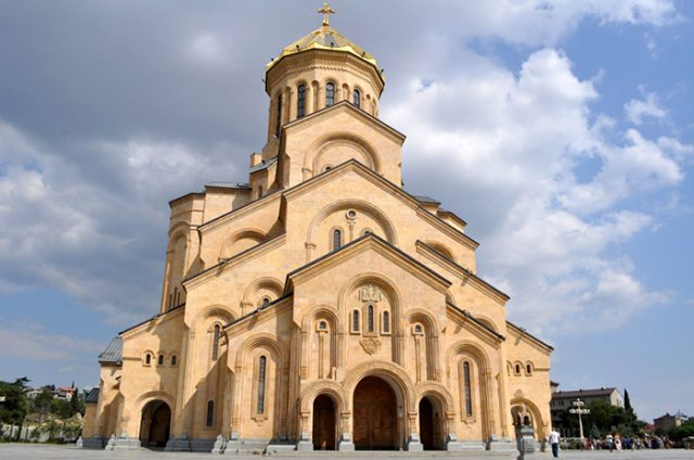 Собор Пресвятой Троицы - Цминда Самеба
