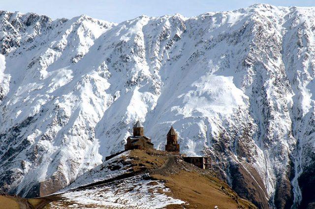 Гергетская Троица, Казбеги
